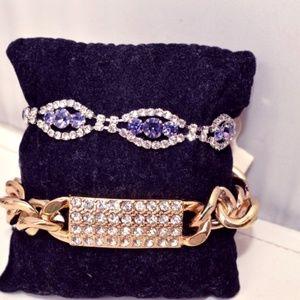 Jewelry - NWT Two Sparkly Bracelets